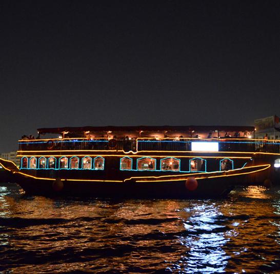 Dubai Creek Dhow Cruise – with Dinner